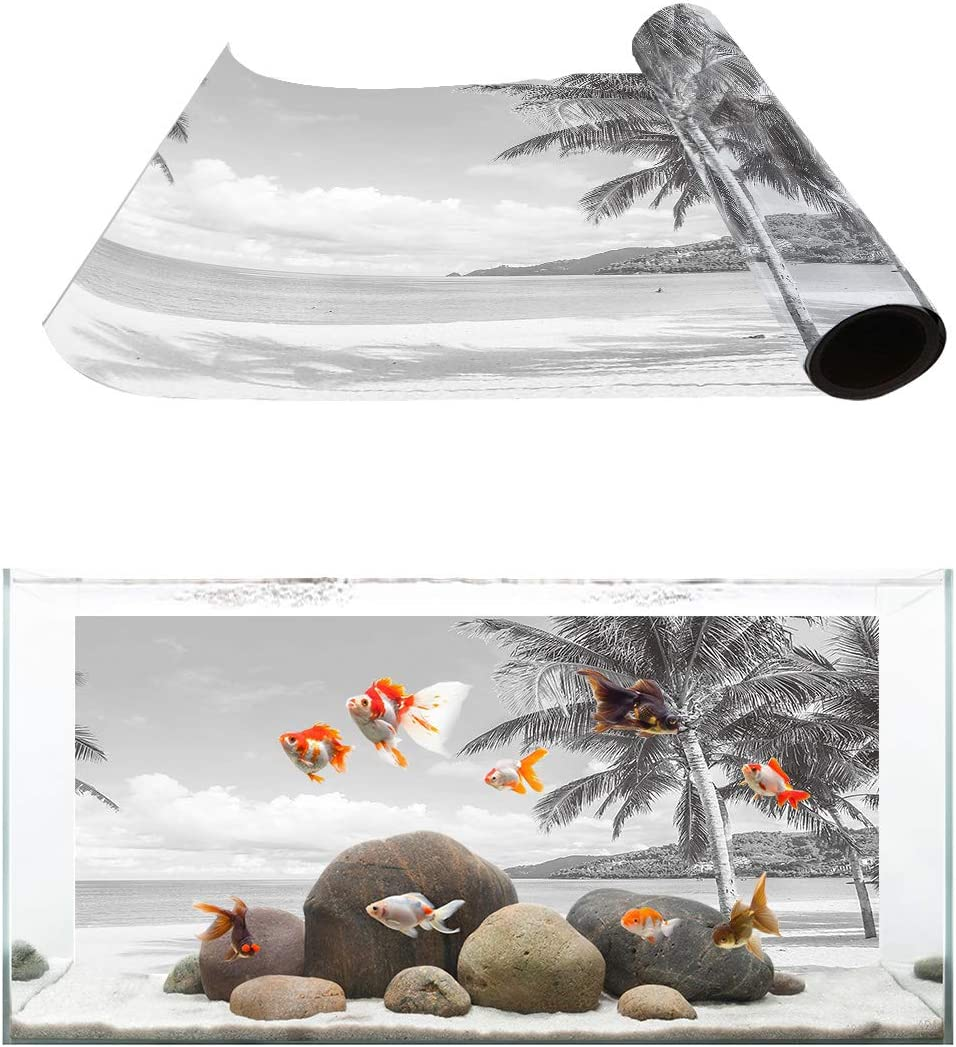 TH XHome Aquarium Background Fish Attention brand Gallon Tank Backgroun Sale SALE% OFF Reptile