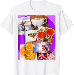 Starfish, Coffee, Maple Syrup, Jam, Clouds, Tangerine