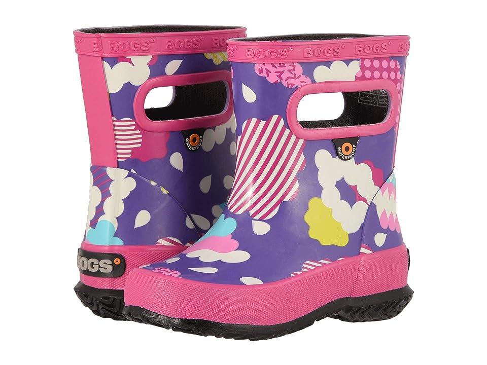 Bogs Kids Skipper Clouds (Toddler/Little Kid) (Violet Multi) Girls Shoes