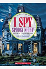 I Spy Spooky Night: A Book of Picture Riddles Hardcover