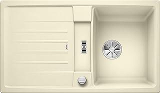 BLANCO 524905 Lexa 45 S Küchenspüle, Jasmin, 45 cm Unterschrank