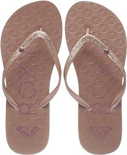 Roxy RG Viva Glitter Sandal for Girls, Tongs. Fille
