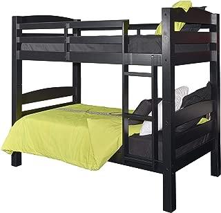 Powell Furniture Levi Bunk Bed, Black