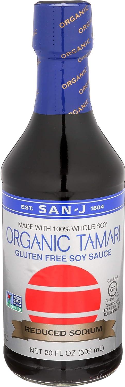 Year-end annual account San J International Sauce Tamari Fl 20 Reduced Organic Ranking TOP2 Sodium