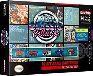 Retro-Bit Data East Classic Collection SNES Cartridge - 5 Games in 1 - Super NES