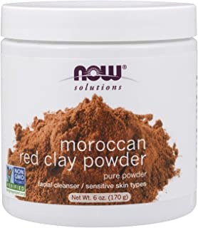 NOW Solutions Moroccon Red Clay Powder 6 fl oz 100% Pure
