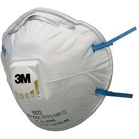 3M 8822 Masque antipoussière jetable FFP2 (pack de 10)