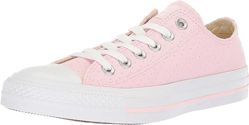 Converse CTAS Ox Cherry Blossom blanc, paniers Femme
