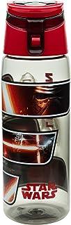 Zak. Designs Tritan botella de agua de plástico con tapa abatible, Kylo Ren, Kylo Ren, Único, 1