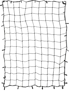 ABN Cargo Net with Nylon Hooks, 72 x 96 Inch for Trailers, Pickup Trucks, Rooftops, More – Heavy-Duty, Multi-Purpose