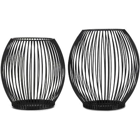 Oval Modern Kerzenhalter Kerzenleuchter Teelicht Halter Deko