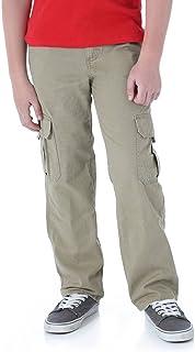 Wrangler Boys Camo Cargo Pants Classic Twill