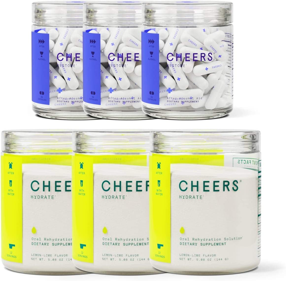 Cheers Classic Combo Kansas City Mall Popular products Restore Feel Great Hydrate Rehydrat