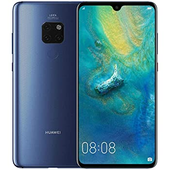 Huawei Mate 20 X EVR-L29 Dual Sim 128GB/6GB (Midnight Blue) - Factory Unlocked - GSM ONLY, NO CDMA - No Warranty in The USA