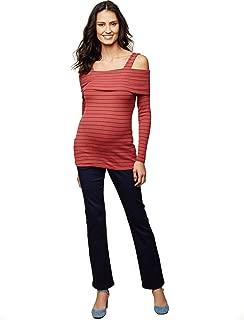 Women's Maternity 5 Pocket Super Soft Secret Fit Belly...