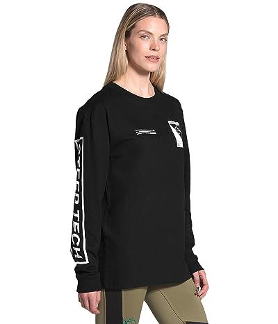 The North Face Steep Tech Long Sleeve Tee (TNF Black) Clothing