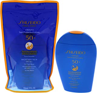 Shiseido Ultimate Sun Protector Lotion SPF 50 for Unisex 5 oz Sunscreen