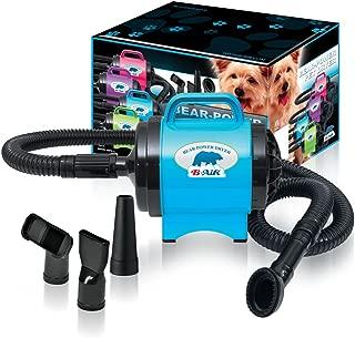 BPD-1 Bear Power 2 HP High Velocity Pet Groomer Dryer, Turquoise