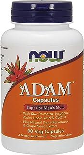 NOW Foods ADAM Superior Men's Multiple Vitamin, Vegcaps 90 ea