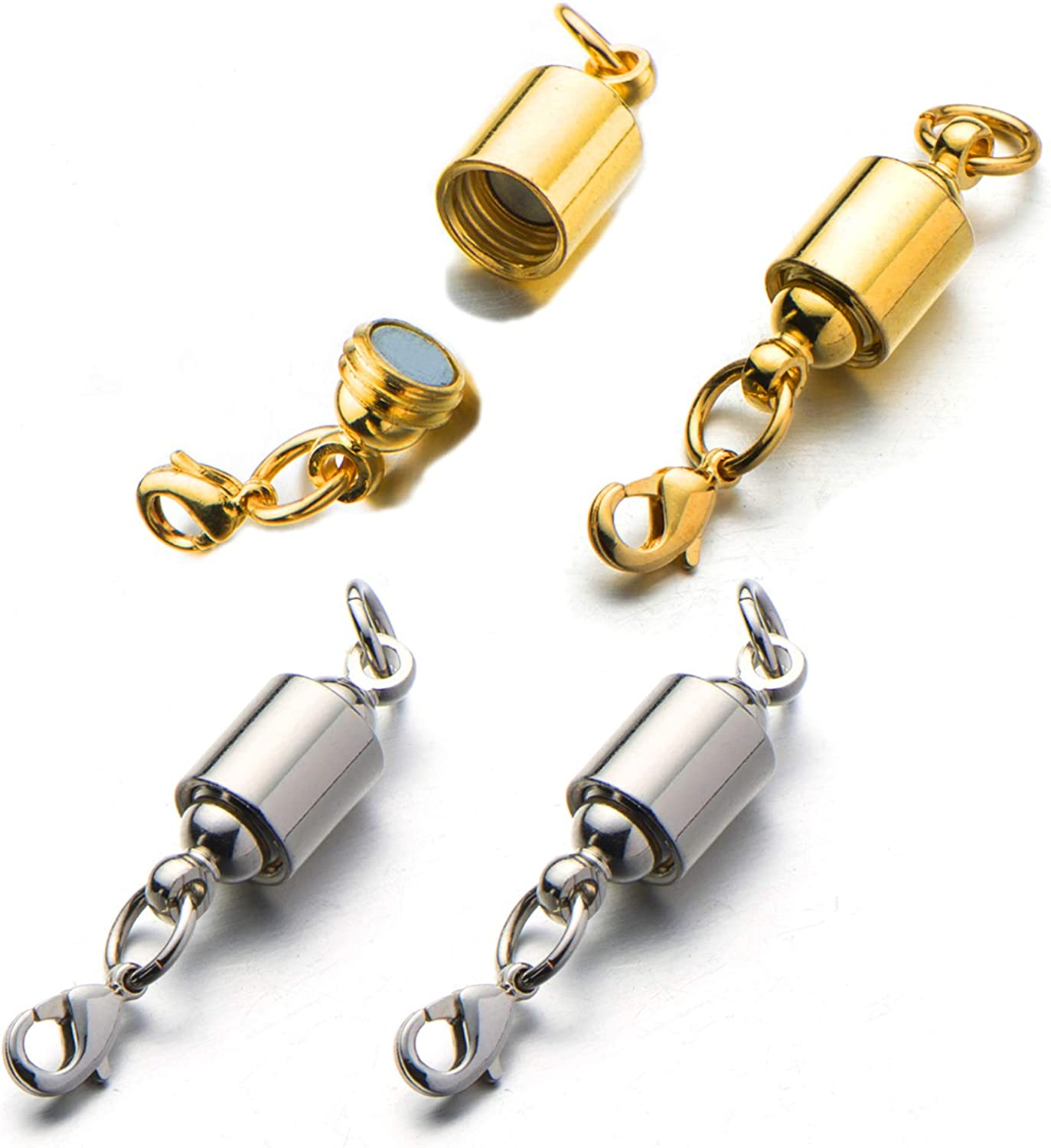 Zpsolution Magnetic Jewelry Clasps for Necklace Easy-to-use Screw- Bracelet Challenge the lowest price of Japan ☆