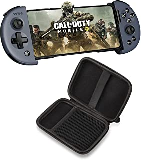 Flydigi Wee2T Telescopic Gamepad with Carry Case, Portable Gamepad with Flymapping Technology, Compatible for Android Gami...