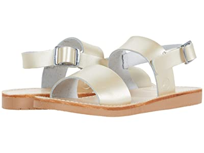 Freshly Picked Sanibel Sandal (Infant/Toddler/Little Kid) (Platinum) Girl