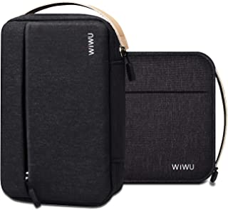 WIWU Multi-Functional Digital Storage Bag Electronic Accessories Travel Organizer Bag Black M