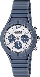 Orologio HIP HOP per uomo X MAN con cinturino in silicone, movimento CHRONO QUARZO