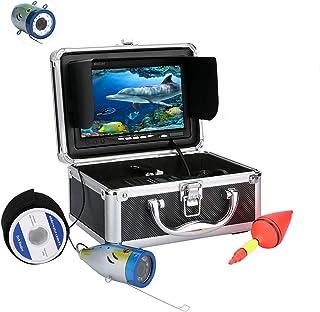 7in 1000TVL Cámara de pesca submarina - Buscador de peces de video HD - Cámara de buscador de peces a prueba de agua IP68 ...