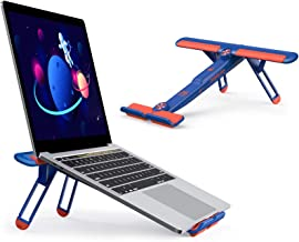 Adjustable Laptop Stand, seenda Portable Laptop Holder Riser Notebook Mount Compatible with MacBook Air Pro, Lenovo, Dell,...