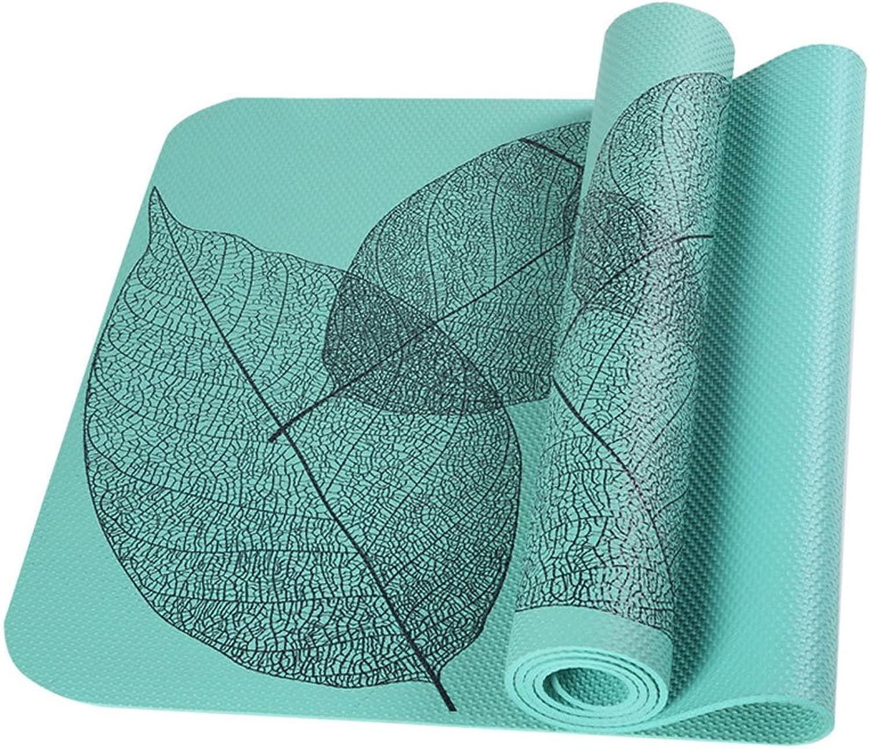 WZLDP Weibliche professionelle Rutschfeste gepolsterte übungsmatte Fitnessmatte Leichtgewicht, für männer und Frauen.
