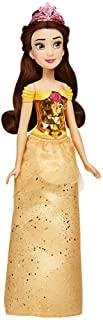 Disney Princess Royal Shimmer Belle Doll, Fashion Doll with Skirt and Accessories, Toy for Kids Ages 3 and Up