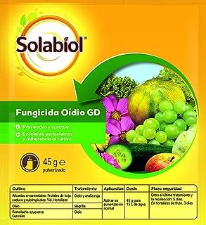 Solabiol Fungicida acaricida organico contra el oídio y araña roja, 12.5x0.04x12.2 cm