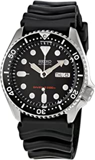 Seiko SKX007 K1 Black Face Automatic 200m Men's Analog Divers Watch