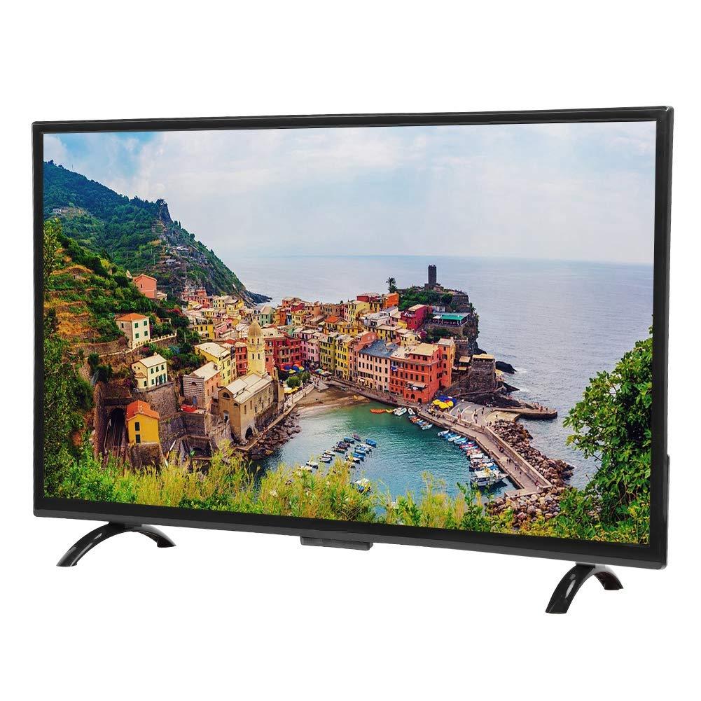 Qinlorgo HD TV, 43 Pulgadas 4K HDR HD TV Versión de Red Pantalla ...
