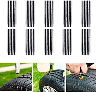 CICMOD 50 Pcs 8 Zoll Reifen Reparatur Saiten für Tubeless Off Road Reifen Auto, Fahrrad, ATV, UTV, Schubkarre, Mähwerk