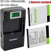 Kastar Galaxy S2 Battery (2-Pack) and intelligent mini travel Charger ( with high speed portable USB charge function) For Samsung Galaxy S2 II GT-I9100, Galaxy S2 II i9100, Galaxy S2 II 9100G (only for i9100,NOT Compatible with Sprint galaxy s2 II Epic Touch 4G, NOT Compatible with AT&T galaxy s2 II(SGH-I777), NOT Compatible with T-moblie galaxy s2 II(SGH-T989))