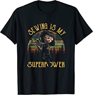 Sewing Is My Superpower T-Shirt Vintage Sewing Shirt