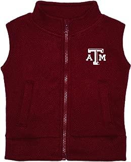 Creative Knitwear Texas A&M University Aggies Baby and Toddler Polar Fleece Vest