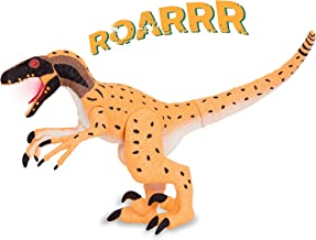 Terra by Battat – Electronic Dinosaur with Light & Sound – Utahraptor Toy for Kids Age 3+