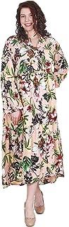Lastinch Women's Plus Size Floral Pink Maxi Dres