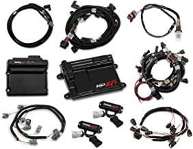 NEW HOLLEY TI-VCT HP EFI ECU KIT & TI-VCT CONTROLLER KIT WITH POWER HARNESS,MAIN HARNESS,COIL HARNESS,INJECTOR HARNESS & SENSORS,COMPATIBLE WITH 2013-2017 FORD COYOTE ENGINES