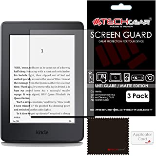 """TECHGEAR [Pack of 3] ANTI GLARE Screen Protectors for Kindle Paperwhite and Paperwhite 3G eReader with 6"""" Dispaly - MATTE ..."""