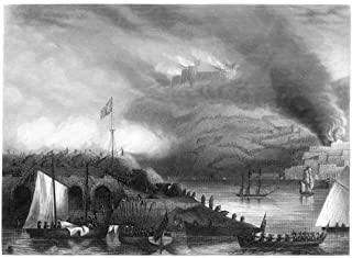 Siege Of San Sebastian 1813 Nbritish Forces Storming The French Stronghold Of San Sebastian Spain 31 August 1813 After A Two-Month Siege Steel Engraving 19Th Century Poster Print by (18 x 24)