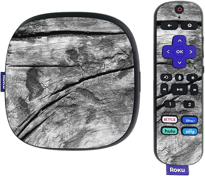 MightySkins Skin Compatible with Roku Ultra HDR 4K Streaming Media Player (2020) - Dead Wood | Protective, Durable, and Unique Vinyl Decal wrap Cover | Easy to Apply | Made in The USA