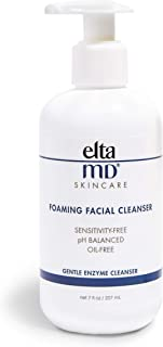 EltaMD Foaming Facial Cleanser, Gentle, Oil-free, Sensitivity-free, Dermatologist-Recommended Enzyme & Amino Acid Face Was...