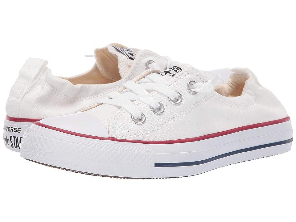 Converse Chuck Taylor(r) All Star(r) Shoreline Slip-On (White) Women's Slip on  Shoes