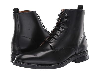 Cole Haan Wagner Grand Plain Toe Boot (Black) Men
