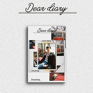 L&M [KIHNO Album] YUN JI Sung Wanna ONE - Dear Diary KIHNO KIT+Compact Package+12Photocard