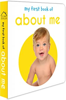 My First Book Of About me : First Board Book